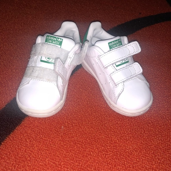 detailed look 280cb 9c628 ADIDAS STAN SMITH TODDLER BOY SHOES